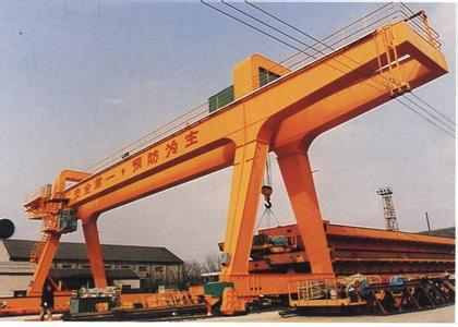 广东桥梁式起重机出租图片